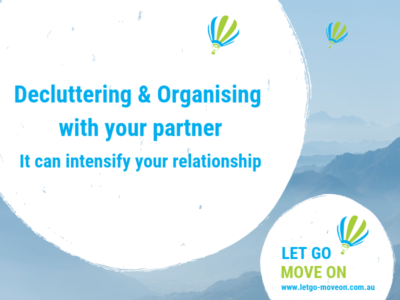 Decluttering Blog Post - Let Go - Move On