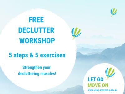 Free Online Declutter Workshop