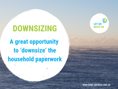 Blog Post - Downsizing the household paperwork