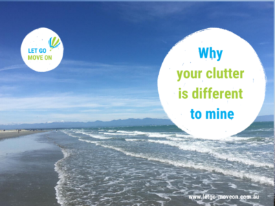 Why your clutter is different to mine - Blog Post