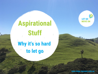 Blog Post Image - Aspirational Stuff - Why it's so hard to let go